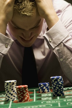 Treatment of compulsive gambling